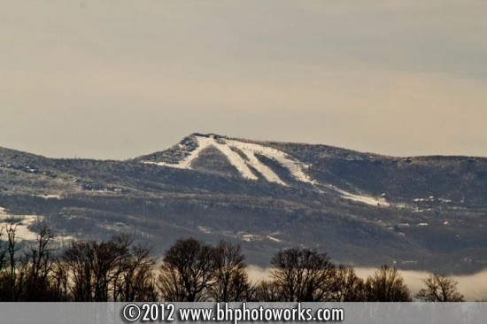 Dec28_shot from Brown Brothers Construction on hwy 421 in Zionville of Beech Mtn Ski Slope_Photo by Barry Houck Photoworks