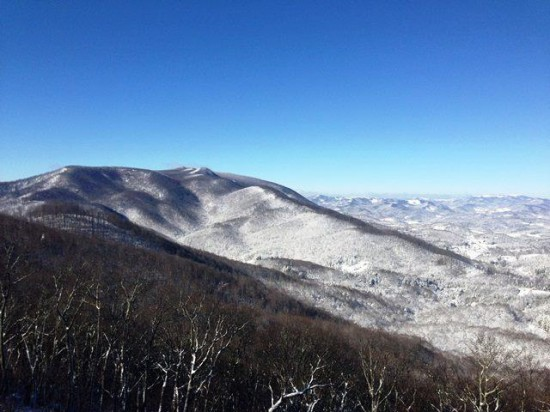 Jan18 Phoenix Mtn in Ashe County Josh Johnson 550x412 Jan 19 20 Conditions/Reports