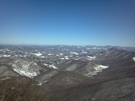 Jan19 View of the mountains Greg Russell 550x412 Jan 19 20 Conditions/Reports