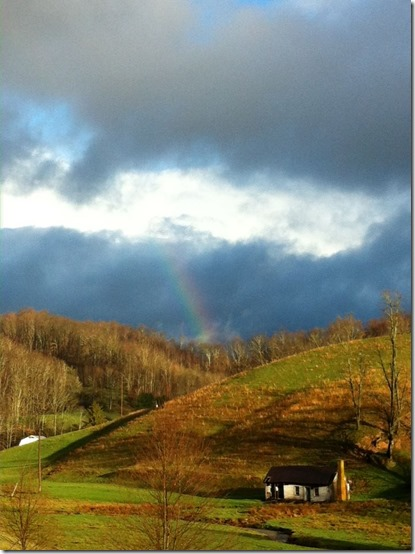 April 12_Chris Atkinson caught this rainbow this morning