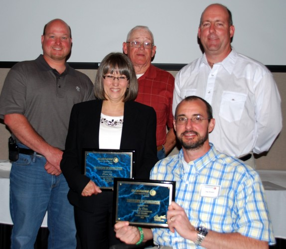 Watauga offices service awards