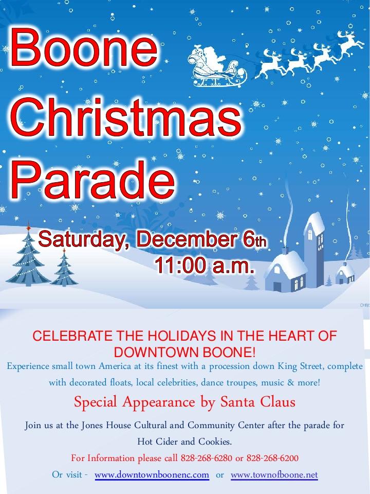 2014 Christmas Parade Poster