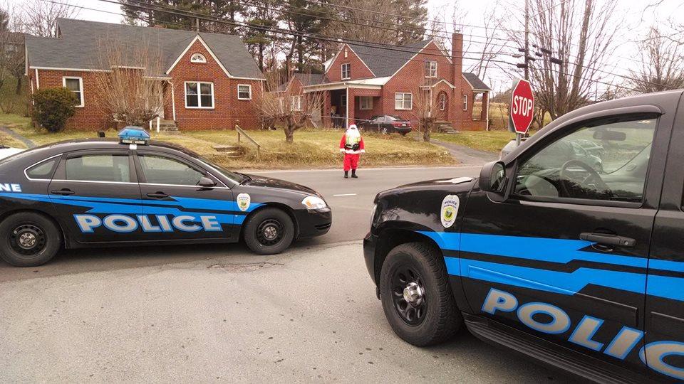 Boone PD Santa