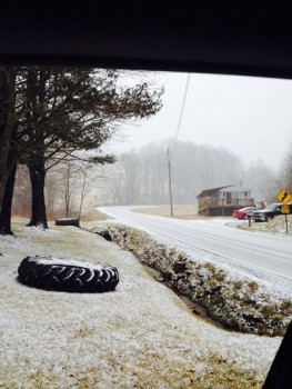 Feb 2_Starting to get covered on 67_88 at the TN line._Mary Scott