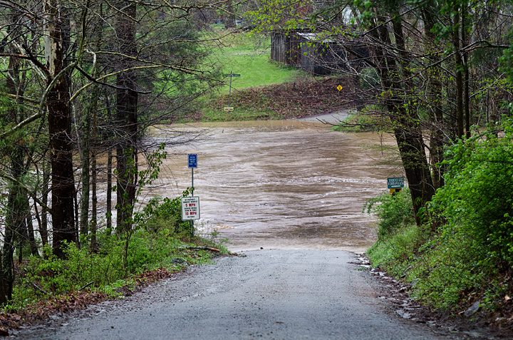 April 19_Underwater Bridge on Old Ford Trail in Valle Crucis_Lynn Willis