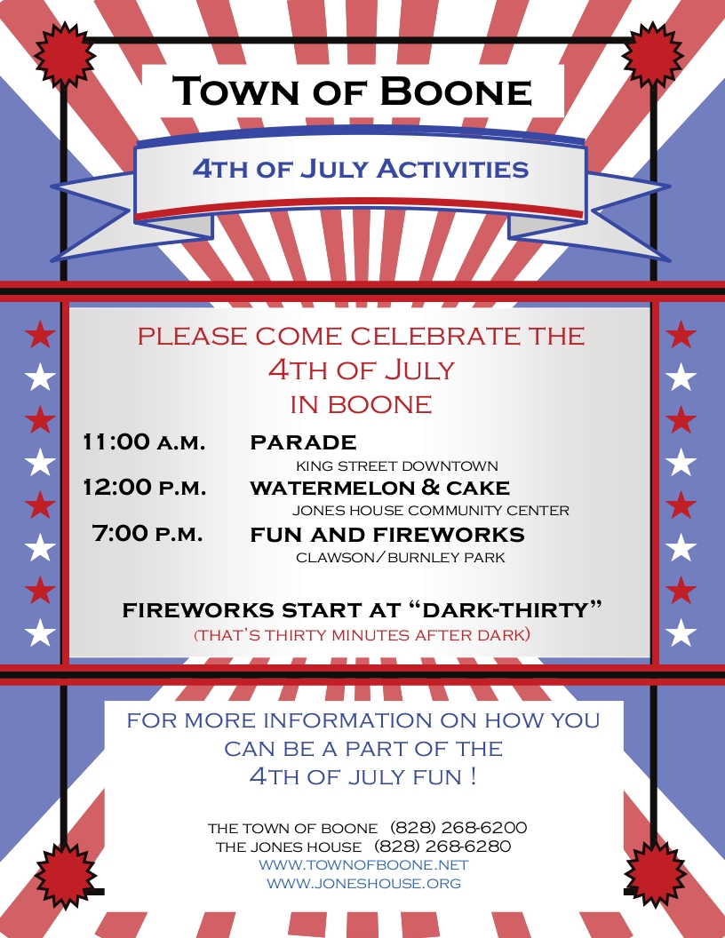 2015July4flyer Boone