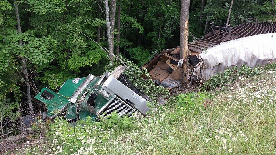 truck crash June 8