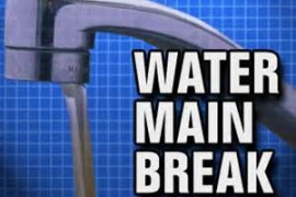 Water Main Break on Winkler's Creek Road