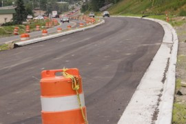 Workers Prepare to Shift Traffic On 321 in Blowing Rock This Week