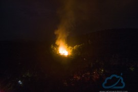 Multiple Fire Departments Response To Overnight Fire