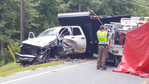 105 wreck Avery County 2 Aug 28