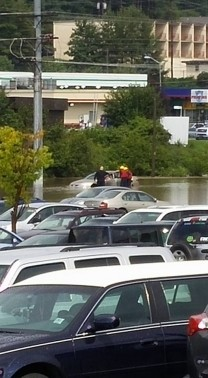 Boone Mall flooding Aug 14 2015_Joe Bentley