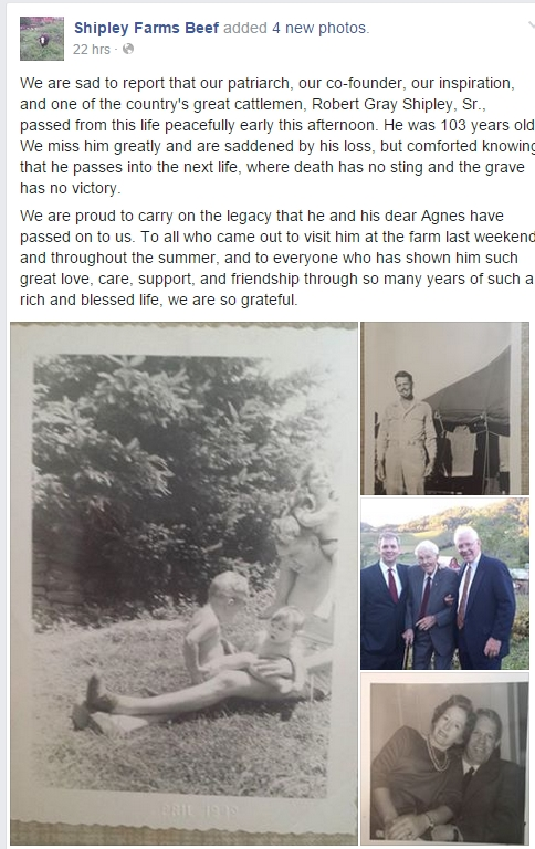 Notable Passing – Agricultural & Educational Leader Passes At 103 Years Old