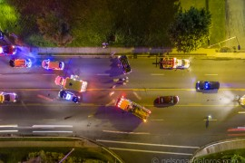 Rollover Wreck Causes Traffic Backups On Blowing Rock Road Wednesday Night
