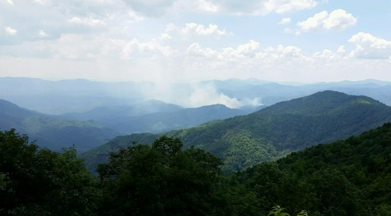 wolf creek fire Aug 3