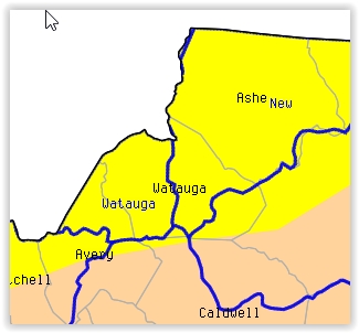 Watauga & Ashe Remain Abnormally Dry, Greater Portion Of Avery Listed As Moderate Drought For Mid September