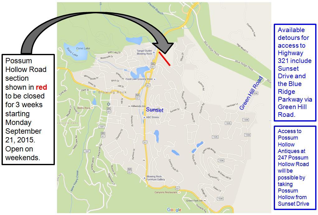 Possum Hollow Road Closure3