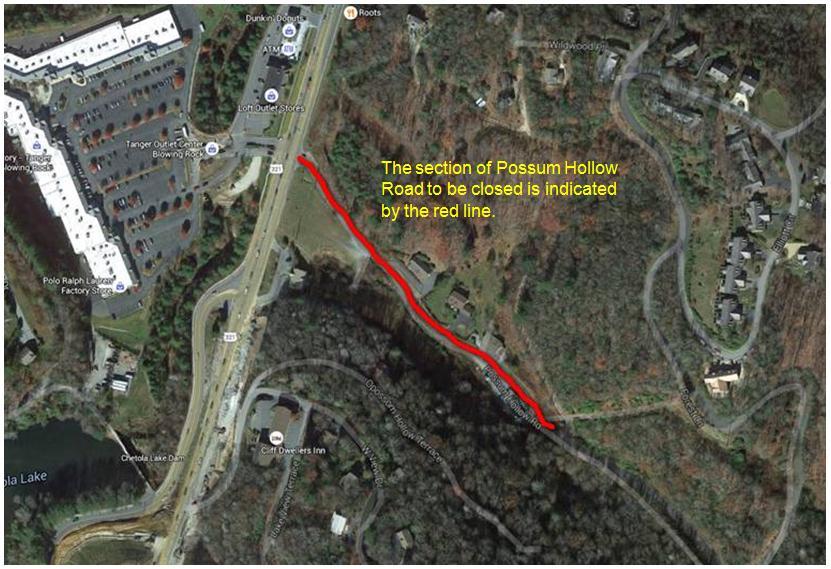 Possum Hollow Road Closure4