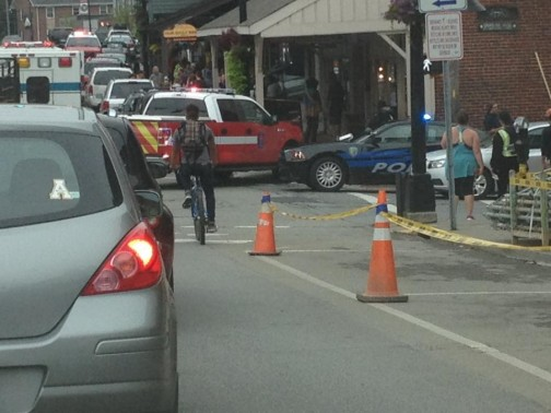 car accident downtown Boone Sept 21_ Kelli Symer