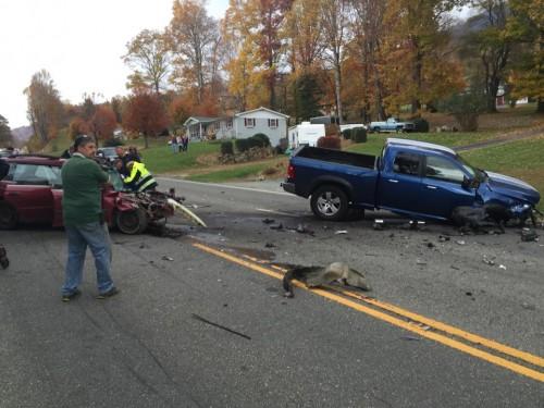 Oct 25 421 Zionville wreck