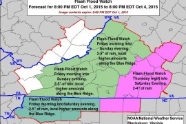 Flash Flood Watch Issued For The High Country, Thursday Video Updates, Nearly 10 Inches Of Rain In Last 8 Days