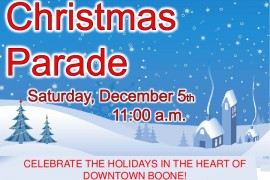 Boone Christmas Parade 2015 To Be Held This Saturday