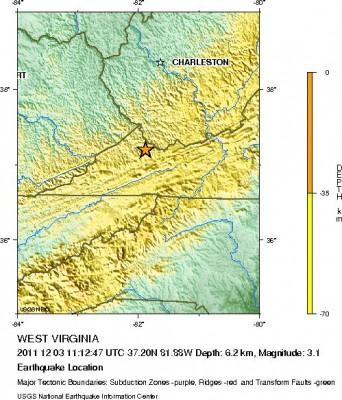 Rainy Week Ahead, Minor Earthquake In Virginia