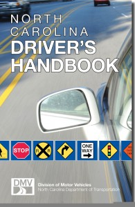 N.C. DMV Publishes New 'Driver's Handbook'