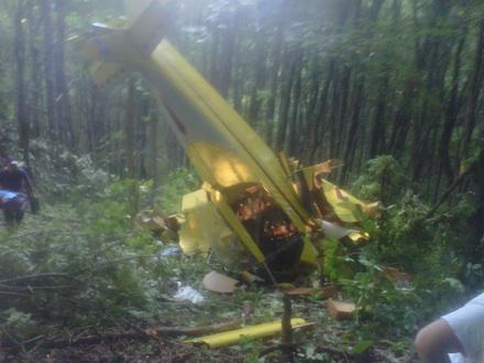 Airplane Crash In Matney Portion Of Watauga County