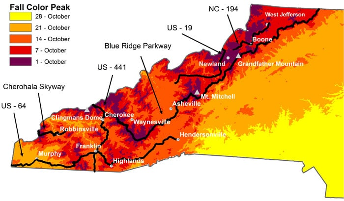 The Fall Color Guy Report for Sept 16
