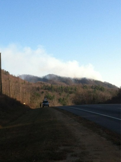Caldwell County Forest Fire