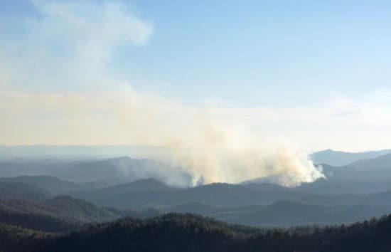 Caldwell County Forest Fire Under Control
