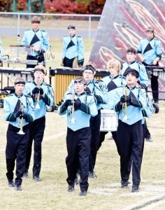 Watauga High School Marching Band Earns High Marks