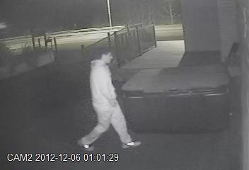 Police Look For Santa Decoration Thief