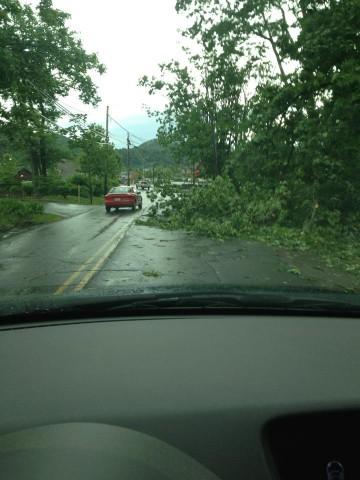 June 13 - Pinnacle Road. Photo: Mike Jones