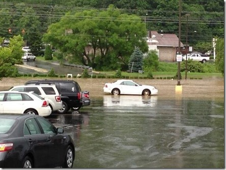 Boone Mall Parking lot