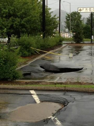 July 7 Hardees Sink Hole_ Debbie Henson