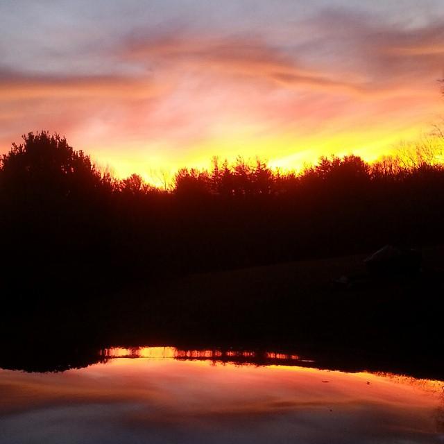 Sunset March 16 Kristin Uhler