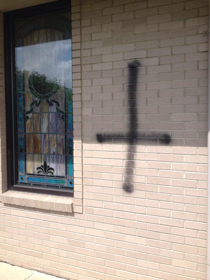graffiti Greenway Baptist Church June 20_3