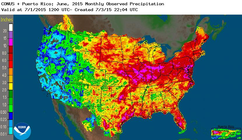nationwide rainfall June 2015